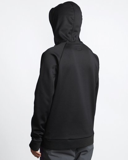 3 Downhill - Hood Funktions-Kapuzenpulli für Männer Schwarz Q6SM02BIF9 Billabong