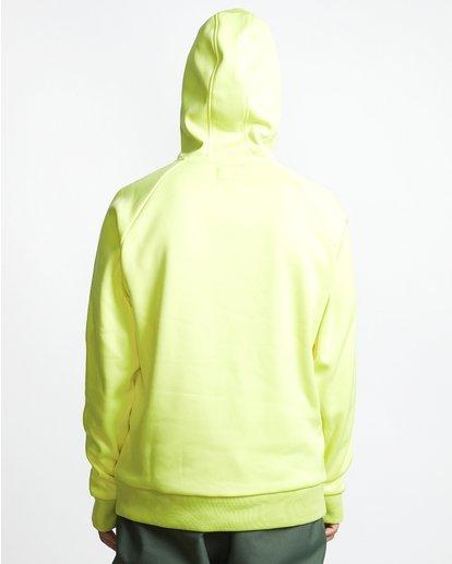 1 Downhill - Hood Funktions-Kapuzenpulli für Männer Gelb Q6SM02BIF9 Billabong