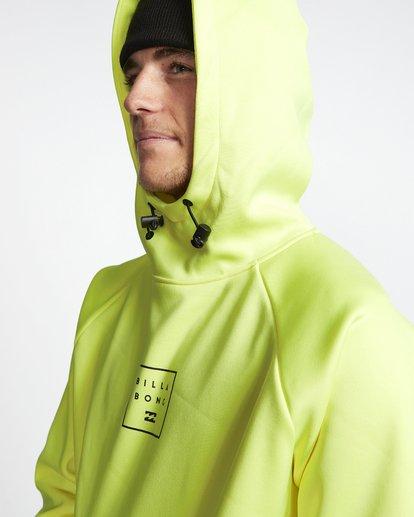 4 Downhill - Hood Funktions-Kapuzenpulli für Männer Gelb Q6SM02BIF9 Billabong