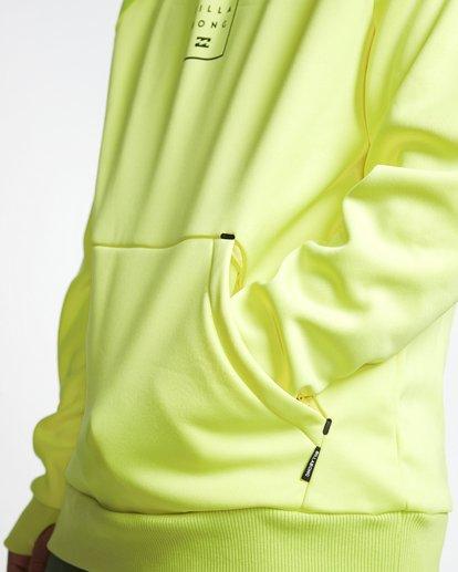 5 Downhill - Sudadera Técnica con Capucha Hood para Hombre Amarillo Q6SM02BIF9 Billabong