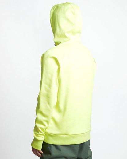 3 Downhill - Hood Funktions-Kapuzenpulli für Männer Gelb Q6SM02BIF9 Billabong