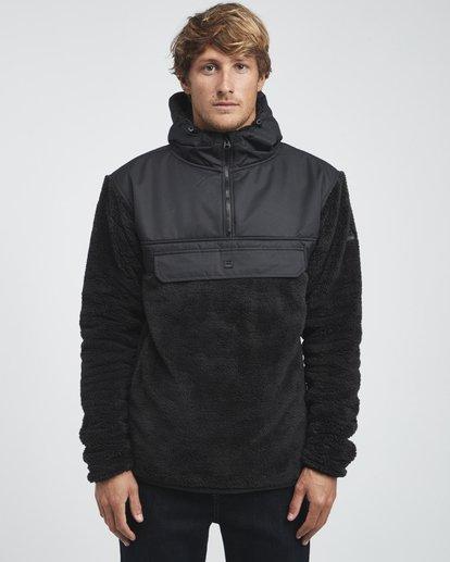 7 Willmore - Pullover-Fleece für Männer Schwarz Q6SM07BIF9 Billabong