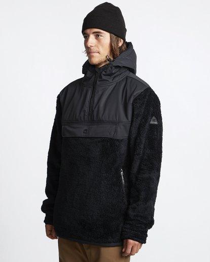 2 Willmore - Pullover-Fleece für Männer Schwarz Q6SM07BIF9 Billabong