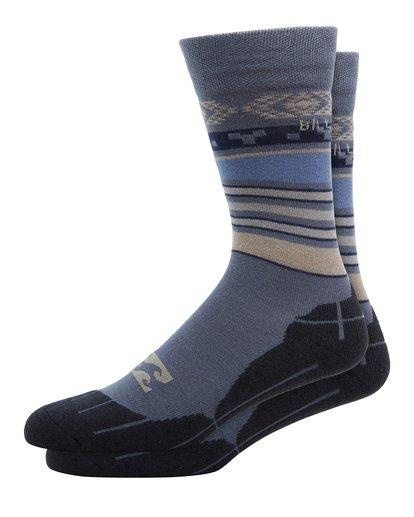 0 Sundays Mens Sock Blue Q6SO01S Billabong