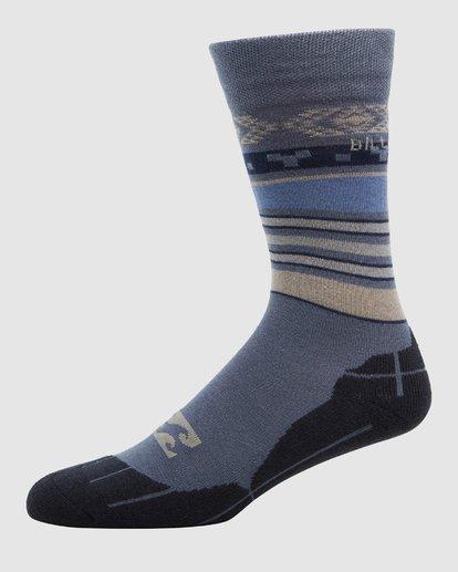 1 Sundays Mens Sock Blue Q6SO01S Billabong