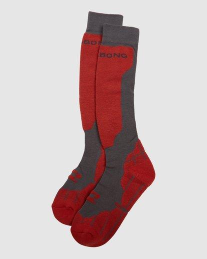 4 Park Coolmax Mens Socks Grey Q6SO02S Billabong