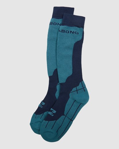 4 Park Coolmax Mens Socks Blue Q6SO02S Billabong
