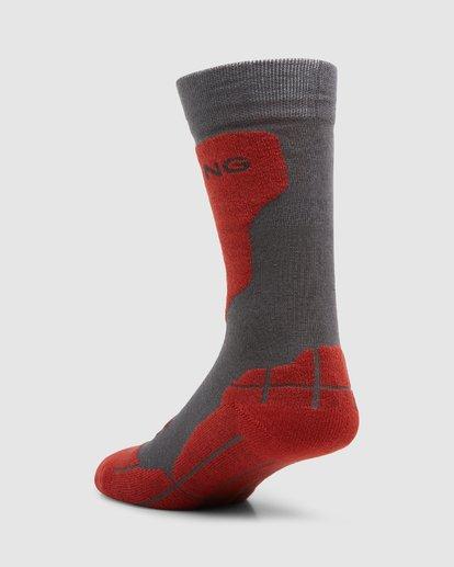 2 Park Coolmax Mens Socks Grey Q6SO02S Billabong