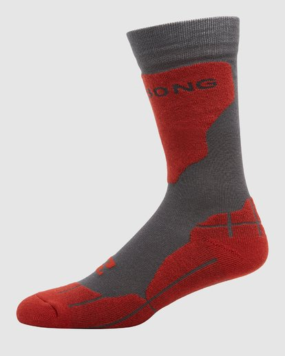 1 Park Coolmax Mens Socks Grey Q6SO02S Billabong