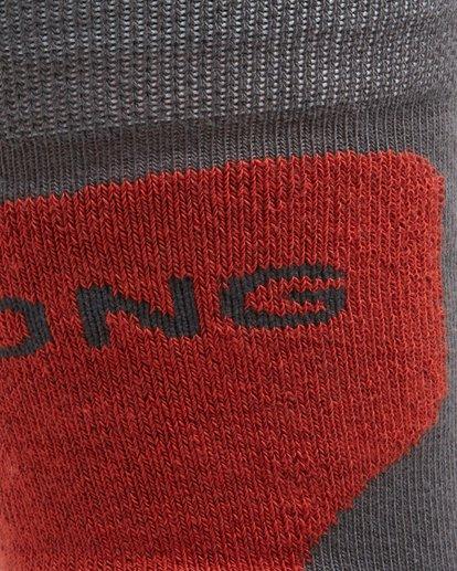 3 Park Coolmax Mens Socks Grey Q6SO02S Billabong