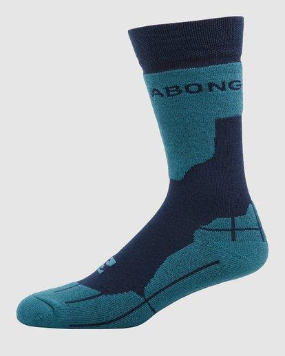 1 Park Coolmax Mens Socks Blue Q6SO02S Billabong