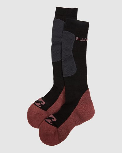 4 Compass Merino Womens Socks Black Q6SO04S Billabong