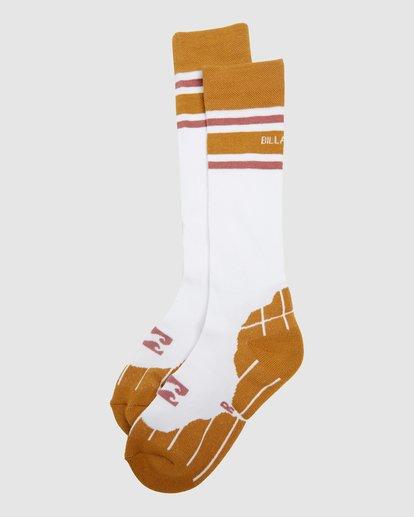 4 Happy Week Womens Socks White Q6SO05S Billabong