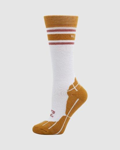 1 Happy Week Womens Socks White Q6SO05S Billabong