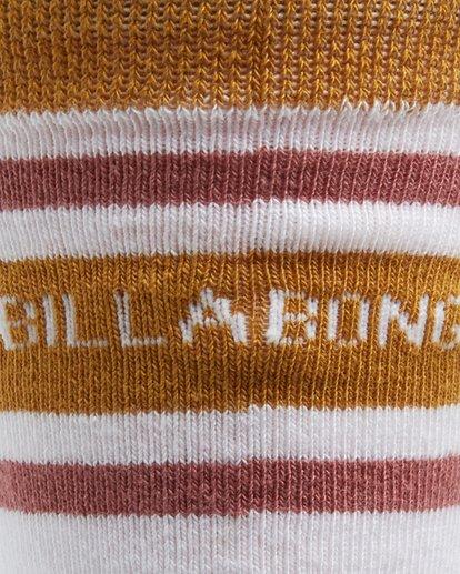 3 Happy Week Womens Socks White Q6SO05S Billabong