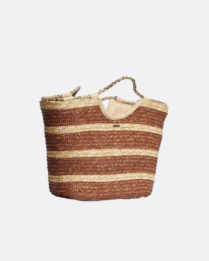 1 Candiceraw Bag - Sac en paille Candice pour Femme Rose Q9BG30BIMU Billabong