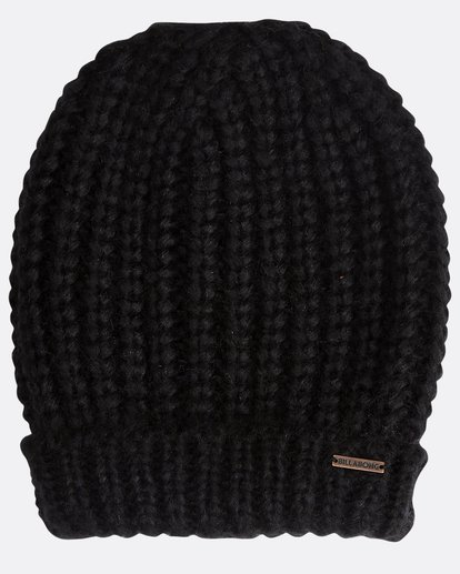 3 Perfect Time - Beanie for Women Black Q9BN01BIF9 Billabong