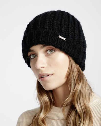 2 Perfect Time - Beanie for Women Black Q9BN01BIF9 Billabong