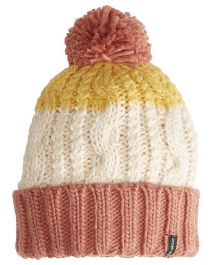 3 Headsss - Snow Beanie für Frauen Rosa Q9BN02BIF9 Billabong