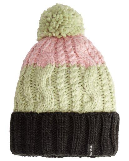 3 Headsss - Snow Beanie für Frauen Grün Q9BN02BIF9 Billabong