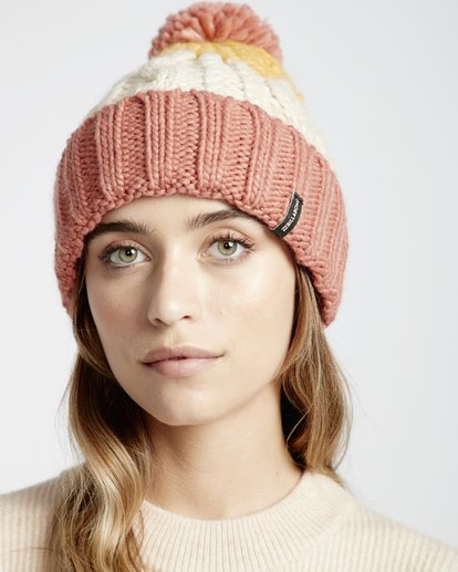 0 Headsss - Snow Beanie für Frauen Rosa Q9BN02BIF9 Billabong