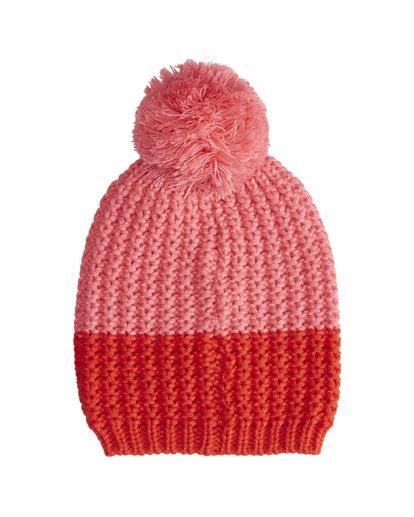 4 Hoodoo - Snow Beanie für Frauen Rot Q9BN06BIF9 Billabong