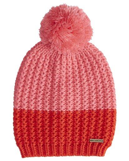 3 Hoodoo - Snow Beanie für Frauen Rot Q9BN06BIF9 Billabong