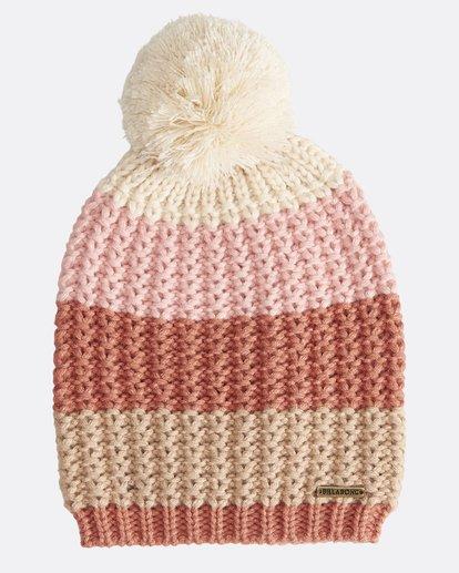 1 Hoodoo - Snow Beanie für Frauen Rosa Q9BN06BIF9 Billabong