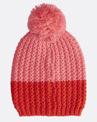 2 Hoodoo - Snow Beanie für Frauen Rot Q9BN06BIF9 Billabong