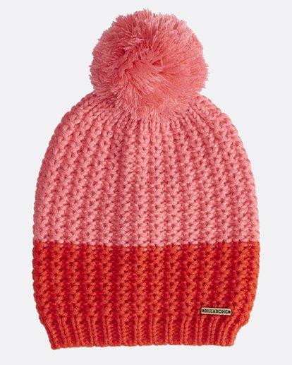 1 Hoodoo - Snow Beanie für Frauen Rot Q9BN06BIF9 Billabong
