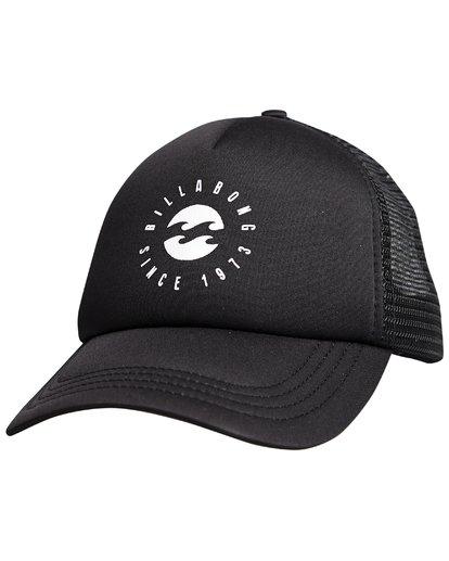 8 Billabong - Trucker-Cap für Frauen Schwarz Q9CT01BIF9 Billabong