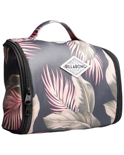 9 The Palms Beauty Case - Neceser para Mujer Verde Q9ES02BIF9 Billabong
