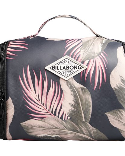 6 The Palms Beauty Case - Neceser para Mujer Verde Q9ES02BIF9 Billabong