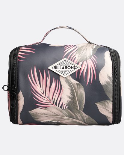 0 The Palms Beauty Case - Neceser para Mujer Verde Q9ES02BIF9 Billabong