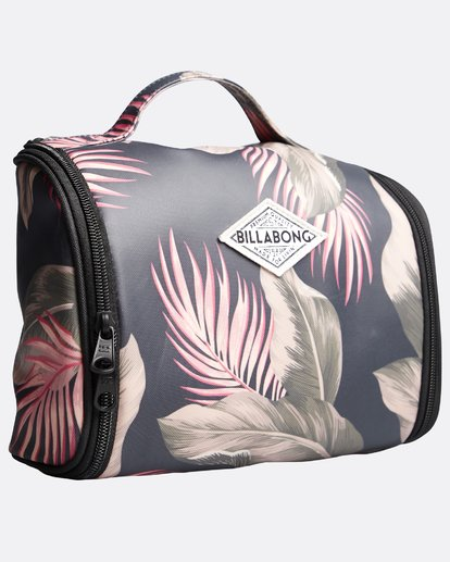 2 The Palms Beauty Case - Kosmetik Tasche für Frauen Grün Q9ES02BIF9 Billabong
