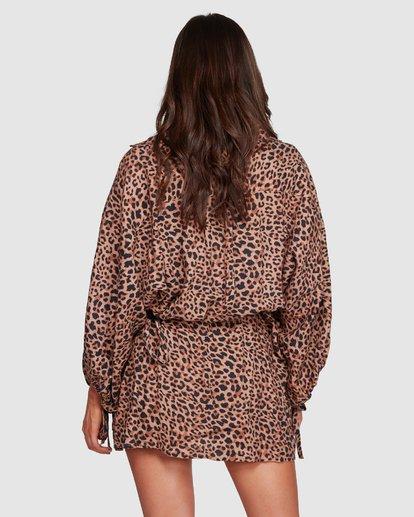5 Babin Wrap - Wickelkleid für Frauen  R3DR20BIMU Billabong