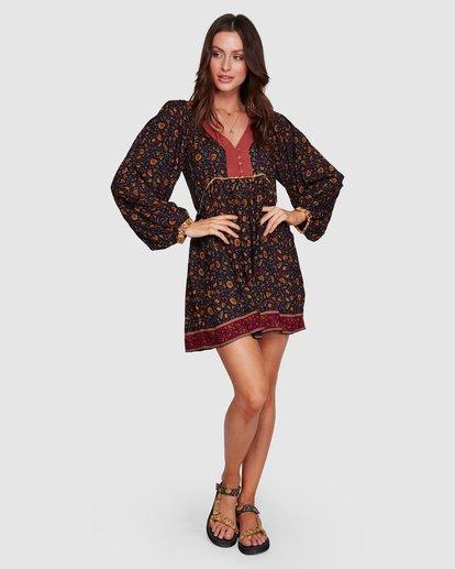 8 The Byron - Boho-Kleid für Frauen Schwarz R3DR21BIMU Billabong