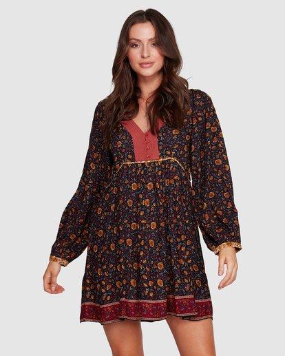 4 The Byron - Boho-Kleid für Frauen Schwarz R3DR21BIMU Billabong