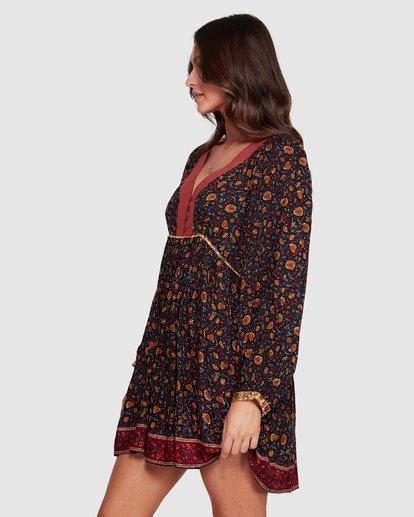 6 The Byron - Boho-Kleid für Frauen Schwarz R3DR21BIMU Billabong