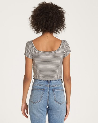 1 Right Now - kurzärmeliges Crop Top für Frauen  R3KT13BIMU Billabong