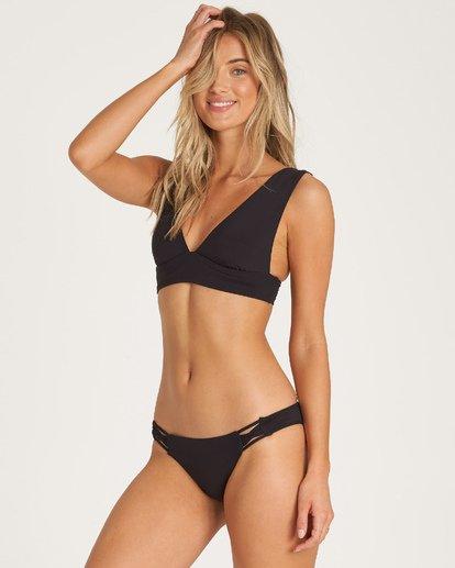 2 Pebble Black - Tie-Side-Bikiniunterteil für Frauen  R3SB01BIW9 Billabong