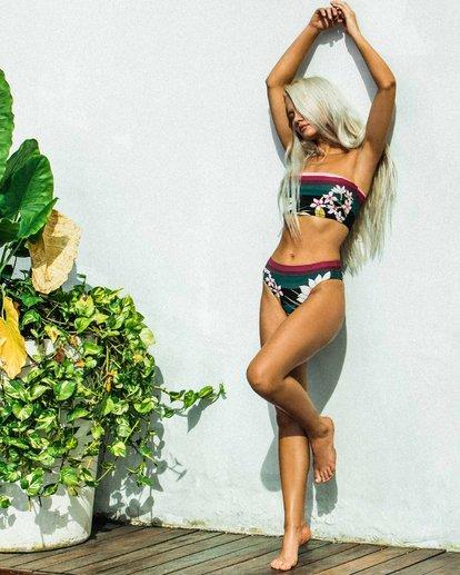 1 After Sunset - Braguita de bikini de tiro alto con corte Maui para Mujer  R3SB12BIMU Billabong