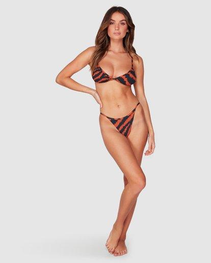 3 Tigress - Braguita de bikini con corte Biarritz para Mujer Negro R3SB34BIMU Billabong