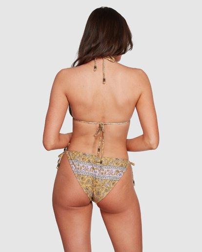 4 Castaway - Top de bikini de triángulo para Mujer Amarillo R3ST20BIMU Billabong