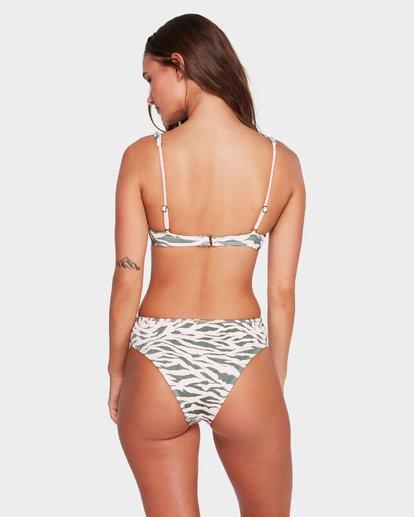 1 Untamed - Top de bikini con aros para mujer Multicolor R3ST51BIMU Billabong