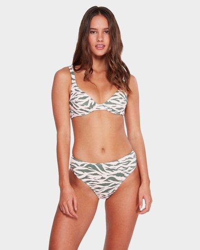 0 Untamed - Top de bikini con aros para mujer Multicolor R3ST51BIMU Billabong