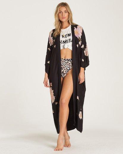 4 Eastern Riser - Kimono corto para Mujer Negro R3TP04BIW9 Billabong