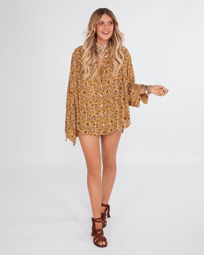 1 Castaway - Bluse für Frauen Gelb R3TP20BIMU Billabong