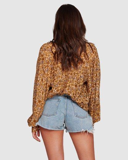 5 Castaway - Blusa para Mujer Amarillo R3TP20BIMU Billabong