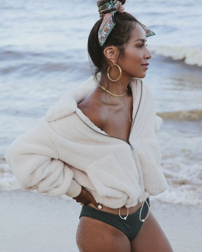 0 Always Cozy - Polarfleece-Jacke für Frauen Mehrfarbig R3WA05BIW9 Billabong
